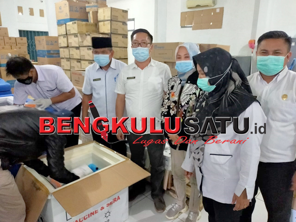 1.560 Dosis Vaksin Tiba Di Lebong