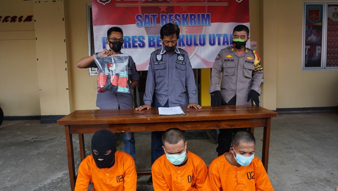 Polisi Tangkap 3 Pelaku Pencabulan Siswi SMP